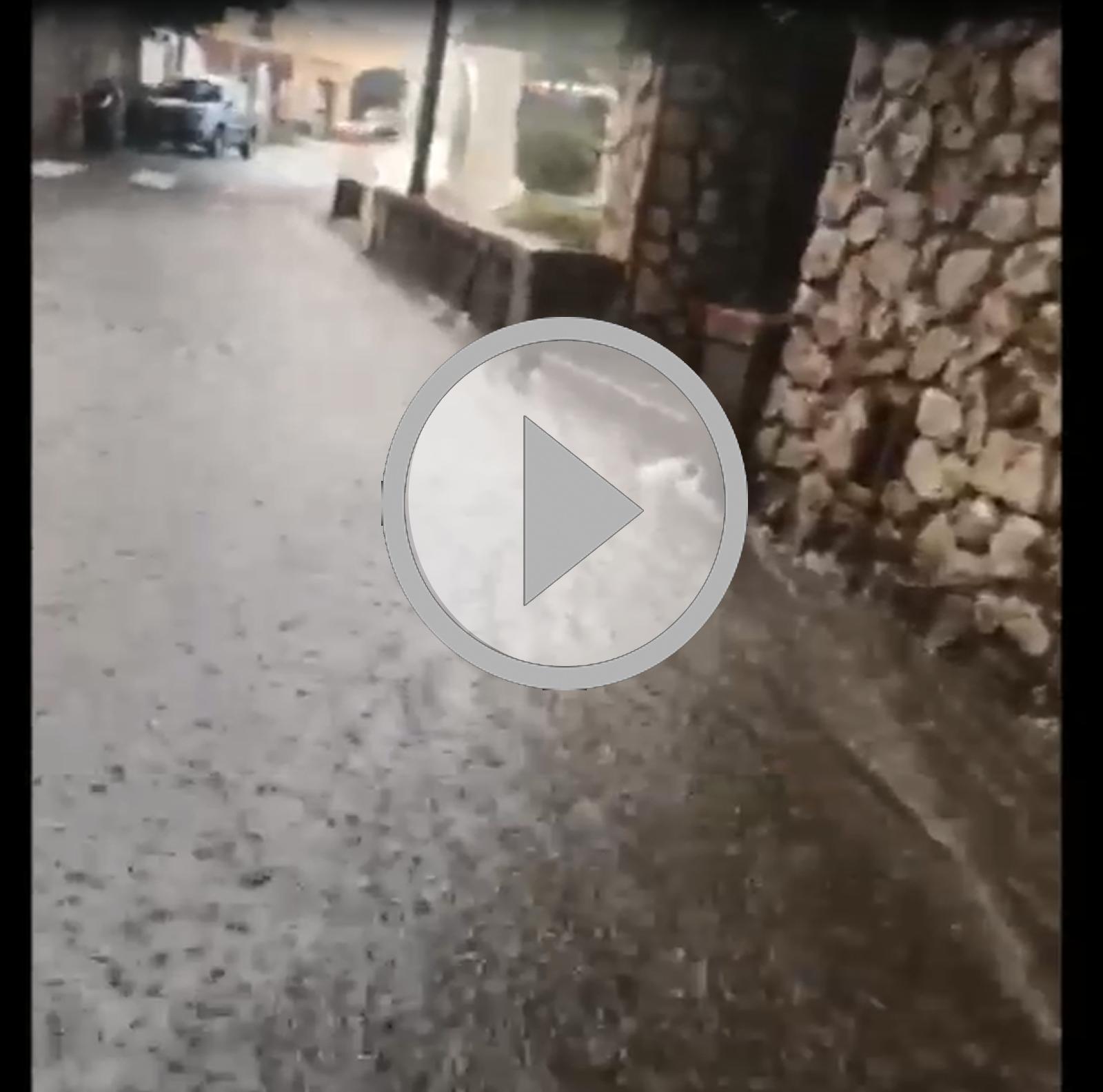 Capri. Piove da ore, violento nubifragio in corso (VIDEO)