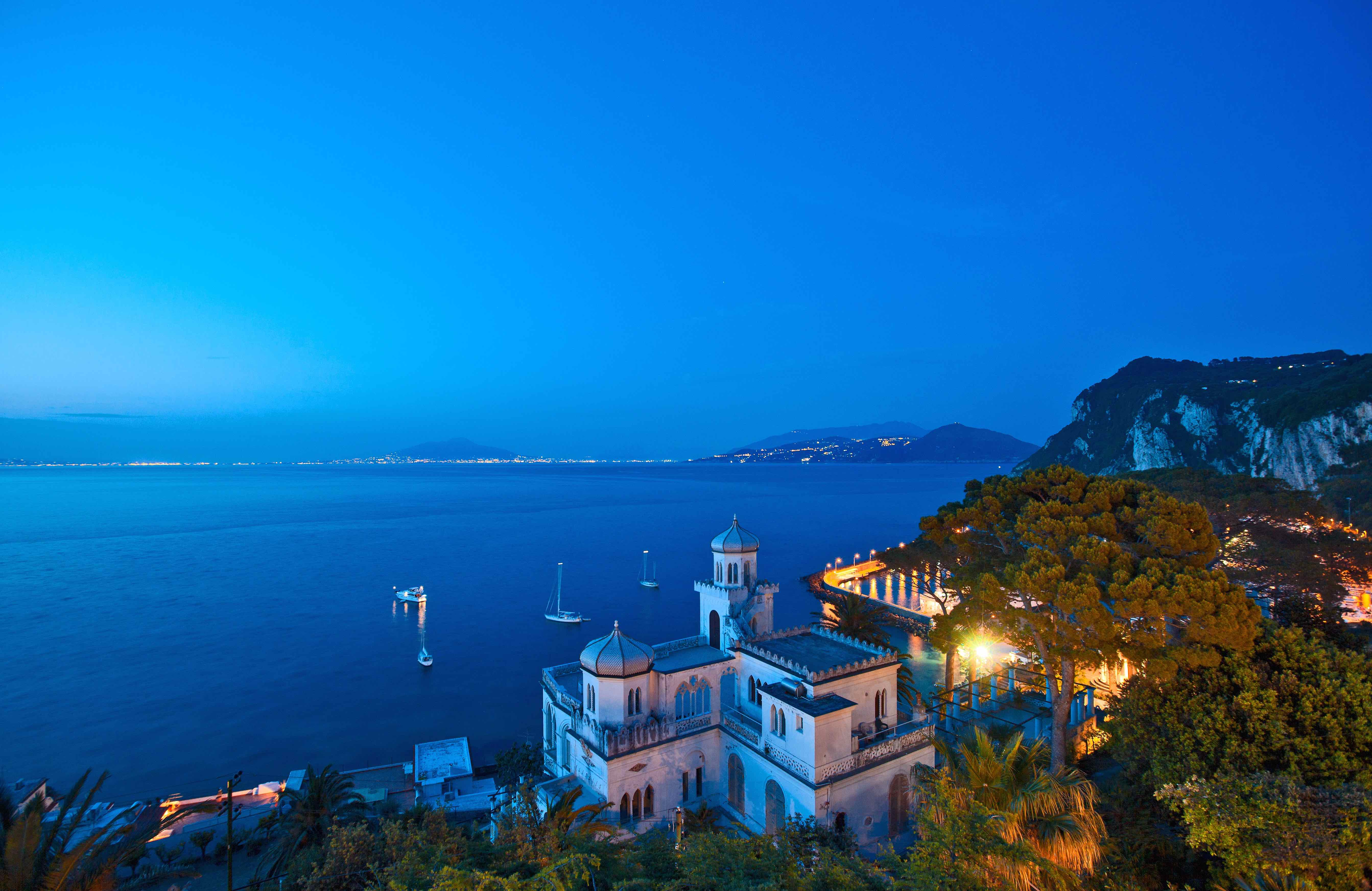 Capri. L'Excelsior Parco entra nella collezione presieduta da Ducasse: Chateaux & Hotels Collection