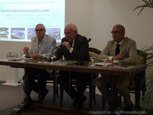 Capri. Presentato l'ambizioso progetto del centro sportivo polivalente (FOTO)