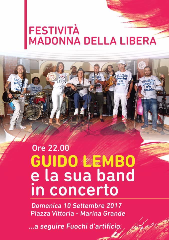 Capri: Guido Lembo e la sua Band in Concerto in occasione dei Festeggiamenti della Madonna della Libera