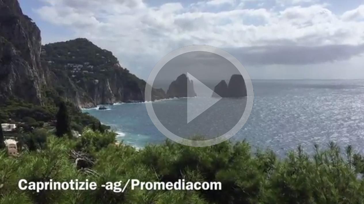 Meteo Capri: Ritorna il sole con Venti moderati dal quadrante Sud – (Video del 12 Settembre 2017(