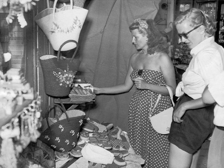 Capri Story: L'indimenticabile Rita Hayworth a Capri nel Luglio 1950 (FOTO)