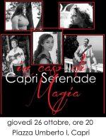 """Capri. Concerto in Piazzetta dei Capri Serenade """"In Caso di Magia"""""""