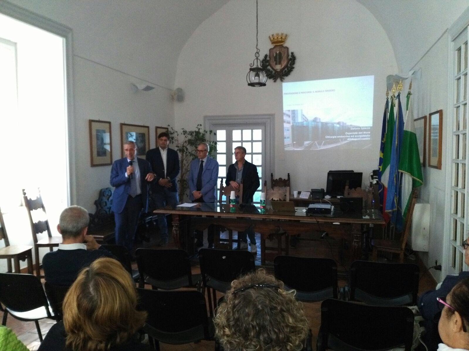 """""""La prevenzione nelle malattie della tiroide """"al via a Capri il programma autunnale di prevenzione del Comune di Capri"""