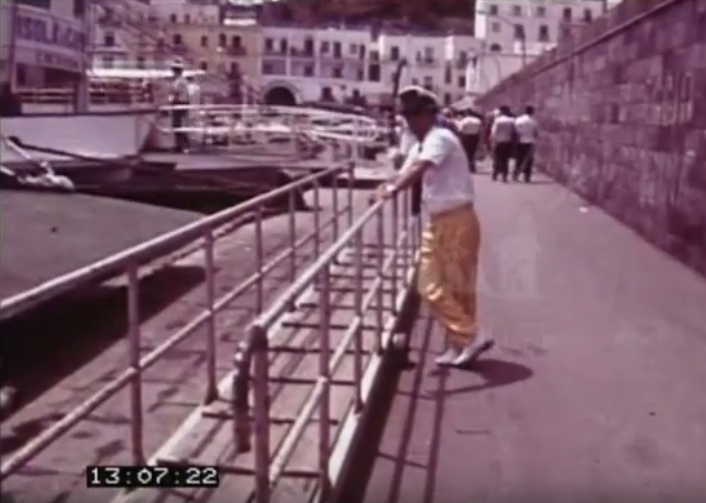 Le Gite a Capri negli anni 60 in un video inedito Archivio Huntley