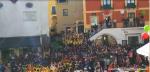 L'Inno di Mameli intonato a Capri da 1000 ragazzi Durante la Giornata dello Sport nella famosa Piazzetta