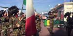Capri. Festa della Forze armate e dell' Unità nazionale, sfilano i Bersaglieri