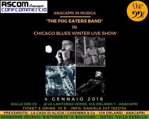 Anacapri in Musica: The Fog Eaters Band in: 'Chicago Blues Winter Live Show' alla Lanterna Verde