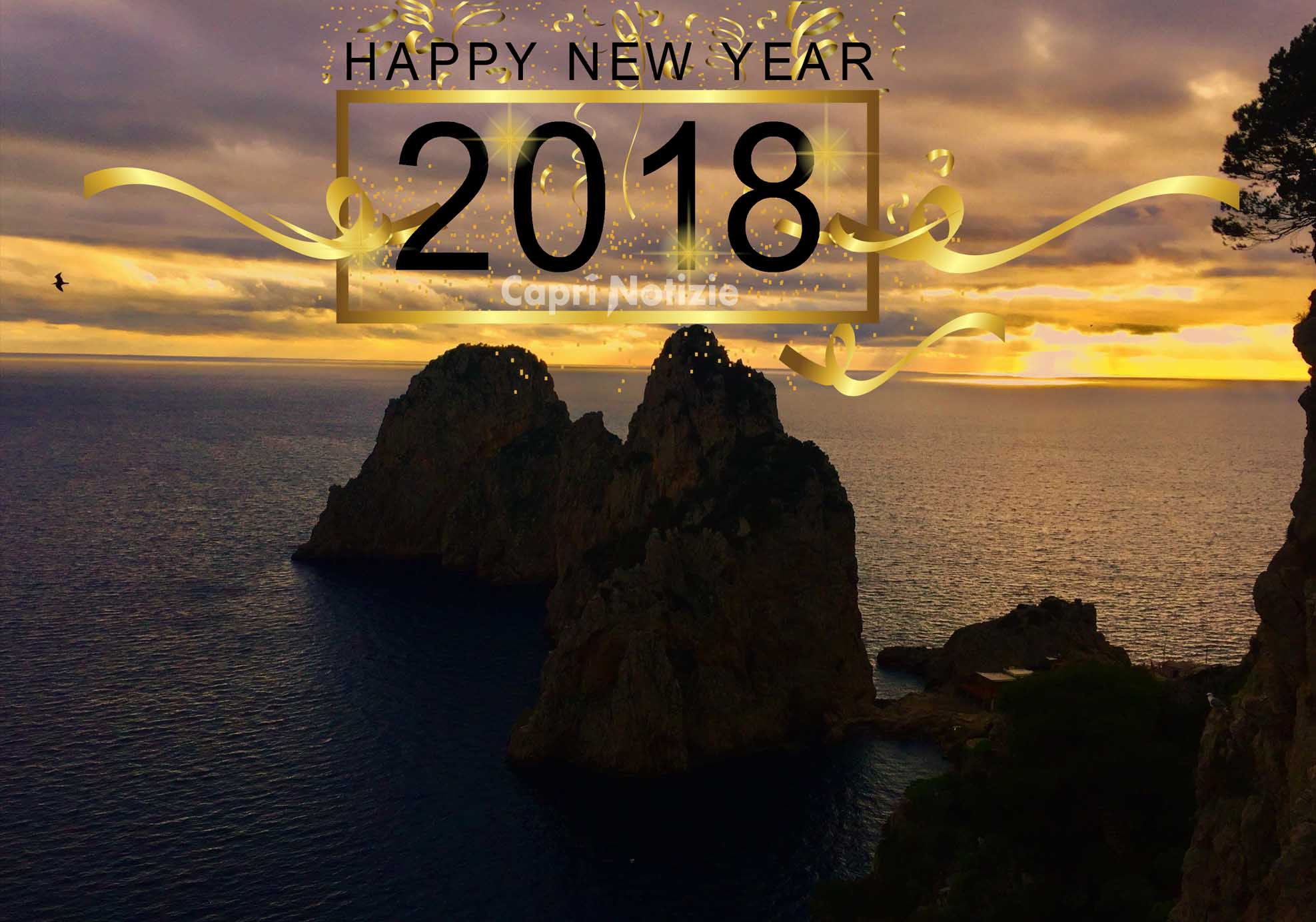 capodanno capri 2018 happy new year 2018 Capri Island