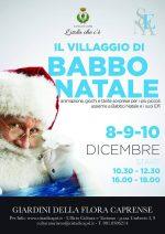 Capri. Il Villaggio di Babbo Natale: Giochi e sorprese per i più piccoli ai Giardini della Flora Caprense