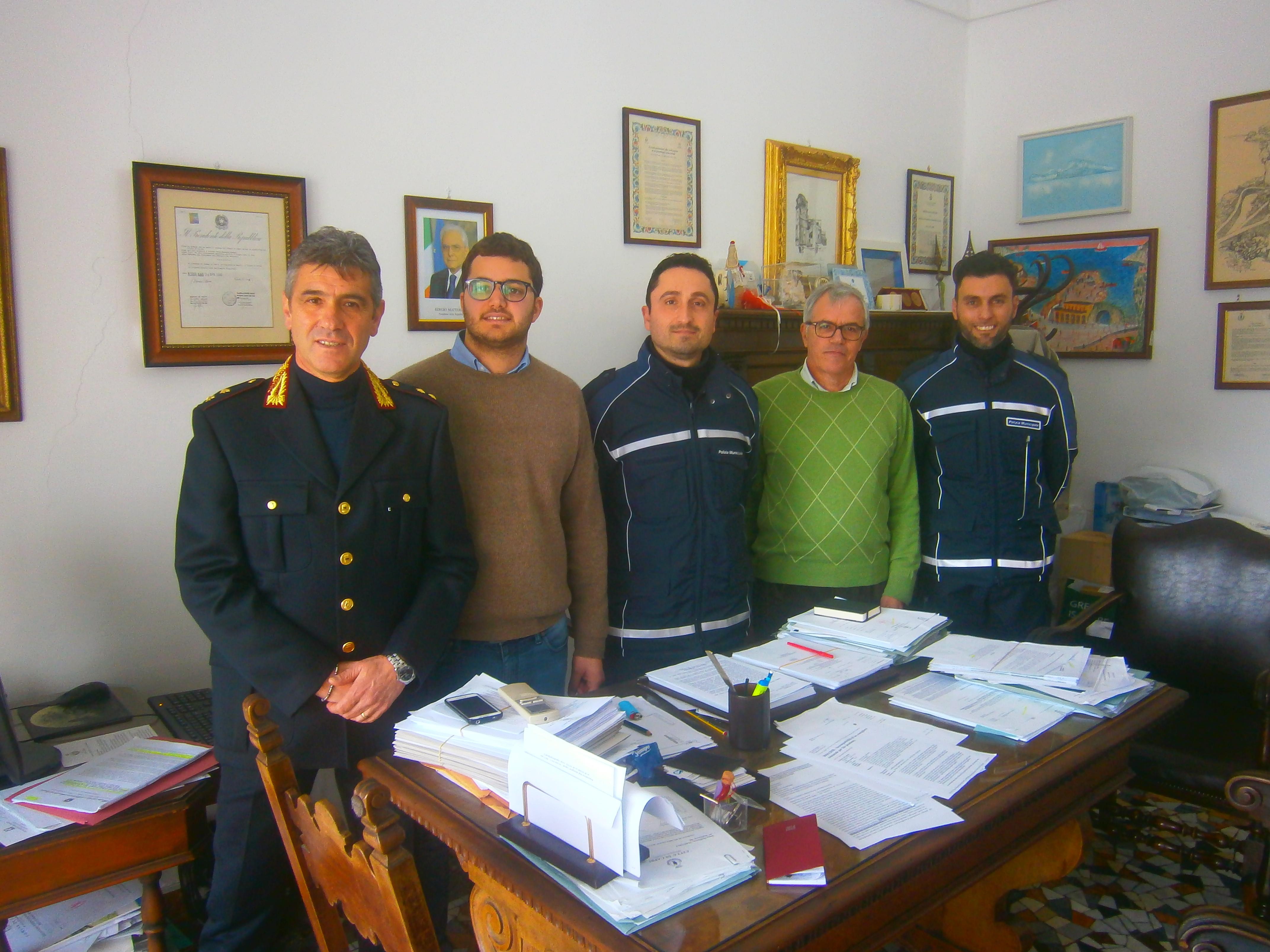 Capri. Entrano in servizio due nuovi agenti di Polizia Municipale: Salvatore Corsini e Carlo Mileto,