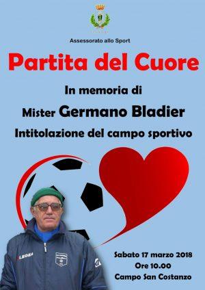 Capri. La Partita del Cuore e intitolazione del Campo in Memoria di Mister Germano Bladier