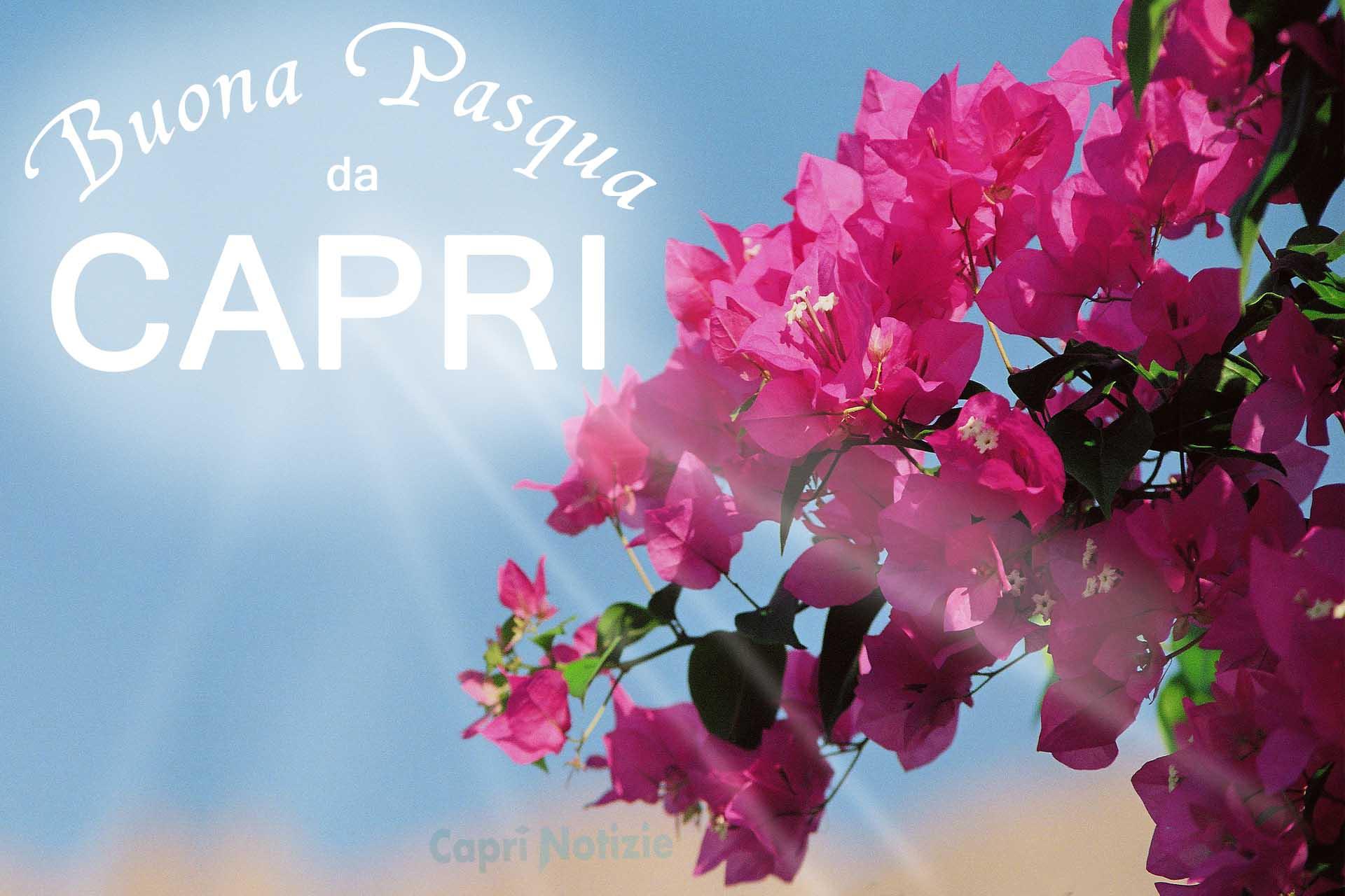 Buona Pasqua da Capri, la Tradizionale Cartolina di Auguri del 2018 di Caprinotizie