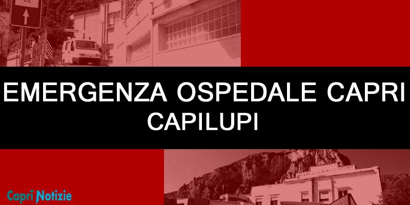 Capri. Emergenza Ospedale Capilupi: i Sindaci disposti a poteri di direzione e sorveglianza del presidio ospedaliero