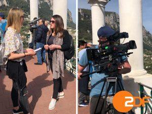 Capri protagonista del documentario in onda sulla seconda tv tedesca Zdf ( FOTO)