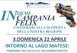 """Insieme in Campania Felix: Domenica 22 Aprile """"Intorno al Lago Matese"""" con Nesea Capri"""