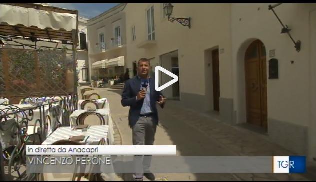 Capri in Tv:  La diretta del TG3 Campania da Anacapri del 5 Maggio 2018 (VIDEO)