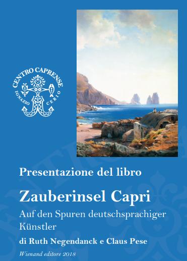 """Capri. Presentazione del Libro """"Zauberinsel Capri – Capri l'isola magica"""" al Centro Caprense Ignazio Cerio"""