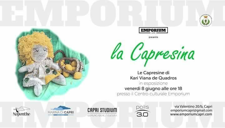 """La Capresina"" di Kari Viana de Quadros esposte al Centro Culturale Emporium di Capri"
