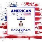 Capri. American Party al Marina Club nel Porto turistico dell' isola dei Faraglioni