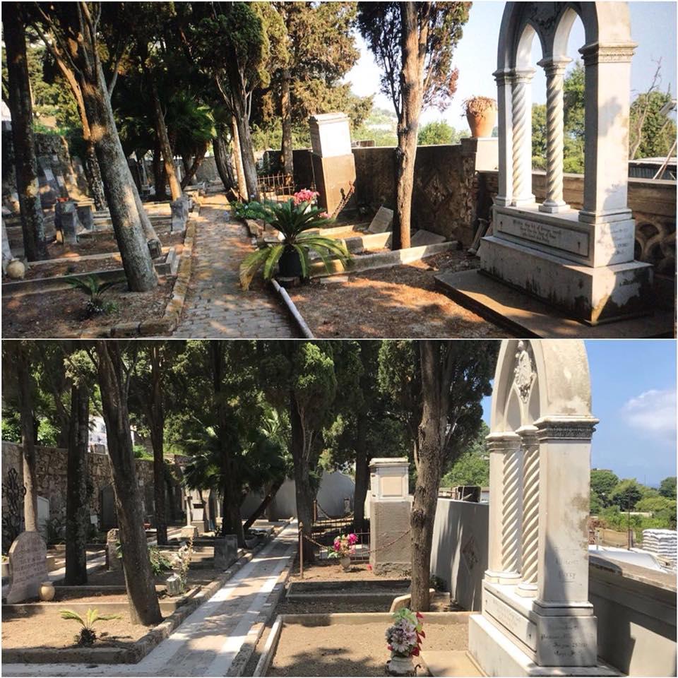 Capri. Completati i lavori di recupero e manutenzione della parte inferiore del Cimitero Acattolico