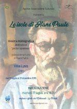 """Capri. La Mostra monografica """"Le isole di Hans Paule"""" dalla collezione privata di Paolo Falco. Durante il vernissage proiezione di immagini di bozzetti inediti dell'artista viennese"""