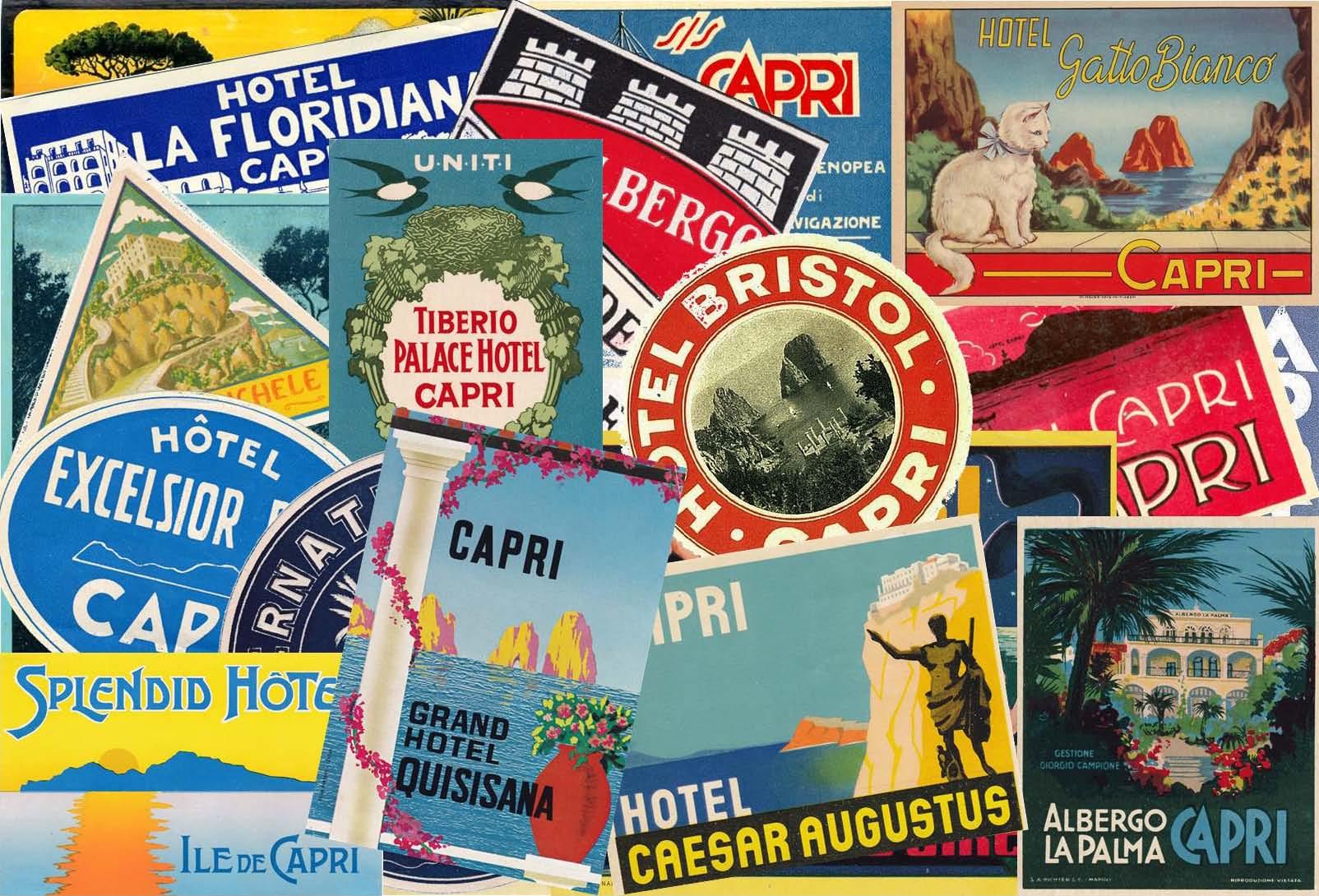 """Capri. Venerdì all' Hotel Syrene la presentazione del Libro di Luciano Garofano """"Capri in Etichetta"""""""