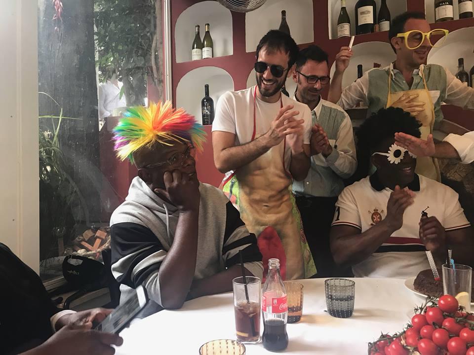 Capri. Magic Johnson festeggia il compleanno nel ferragosto caprese (FOTO -VIDEO)