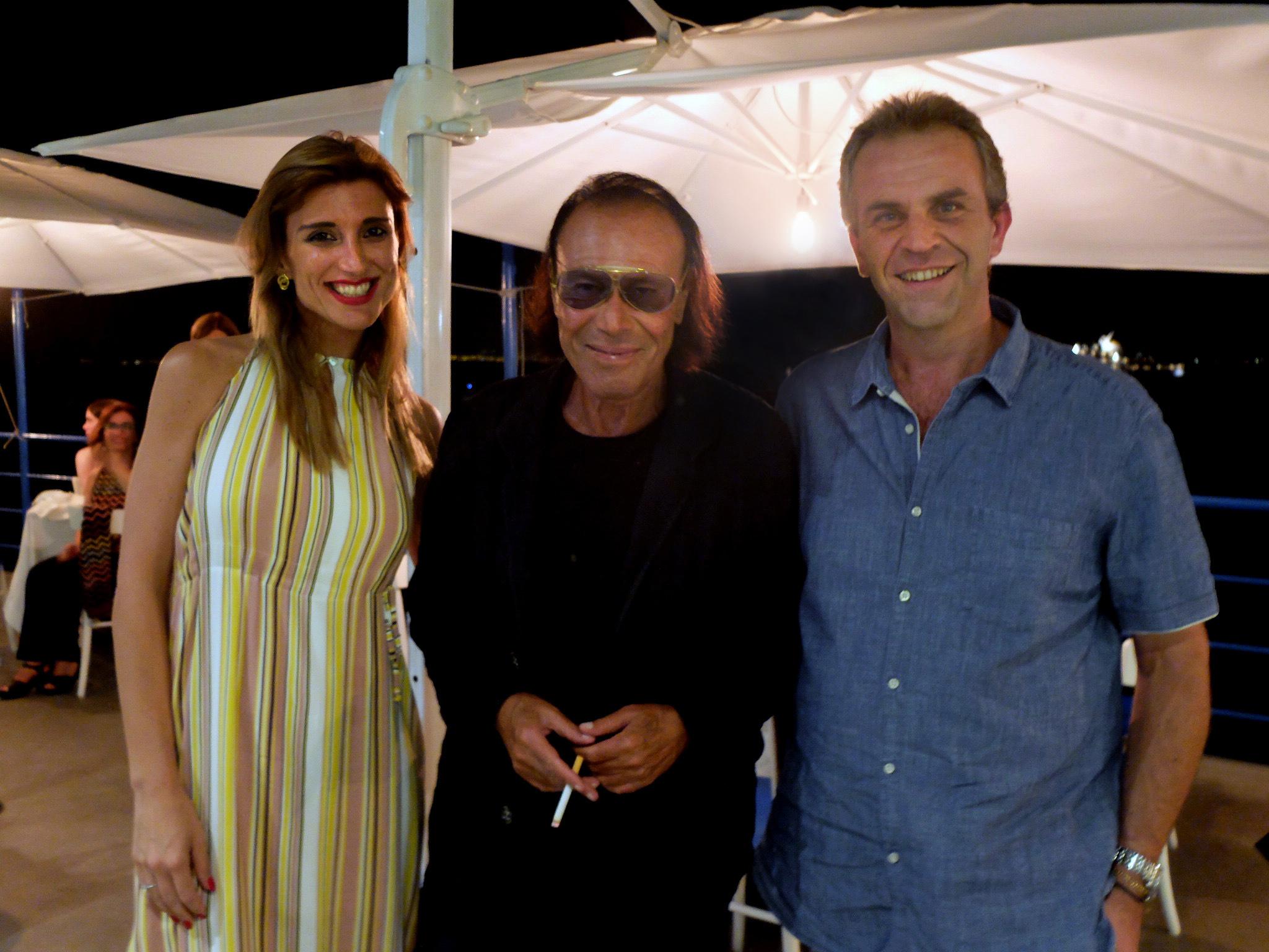 Capri. Antonello Venditti incantato dai sapori mediterranei del Ristorante & Beach Club Da Gemma