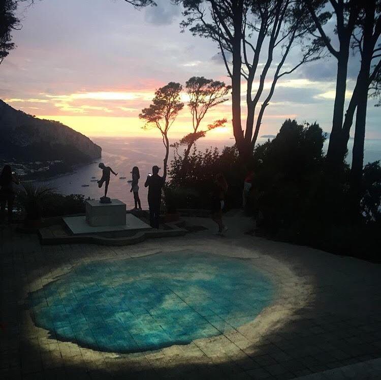 Capri. Lo spettacolare viaggio al centro della Terra a Villa Lysis (VIDEO-FOTO)