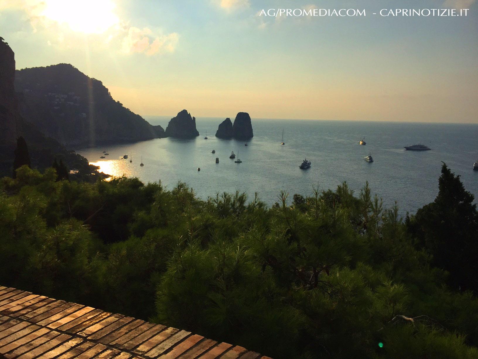 weekend a Capri, le previsioni del tempo per oggi Sabato 13 Luglio 2019