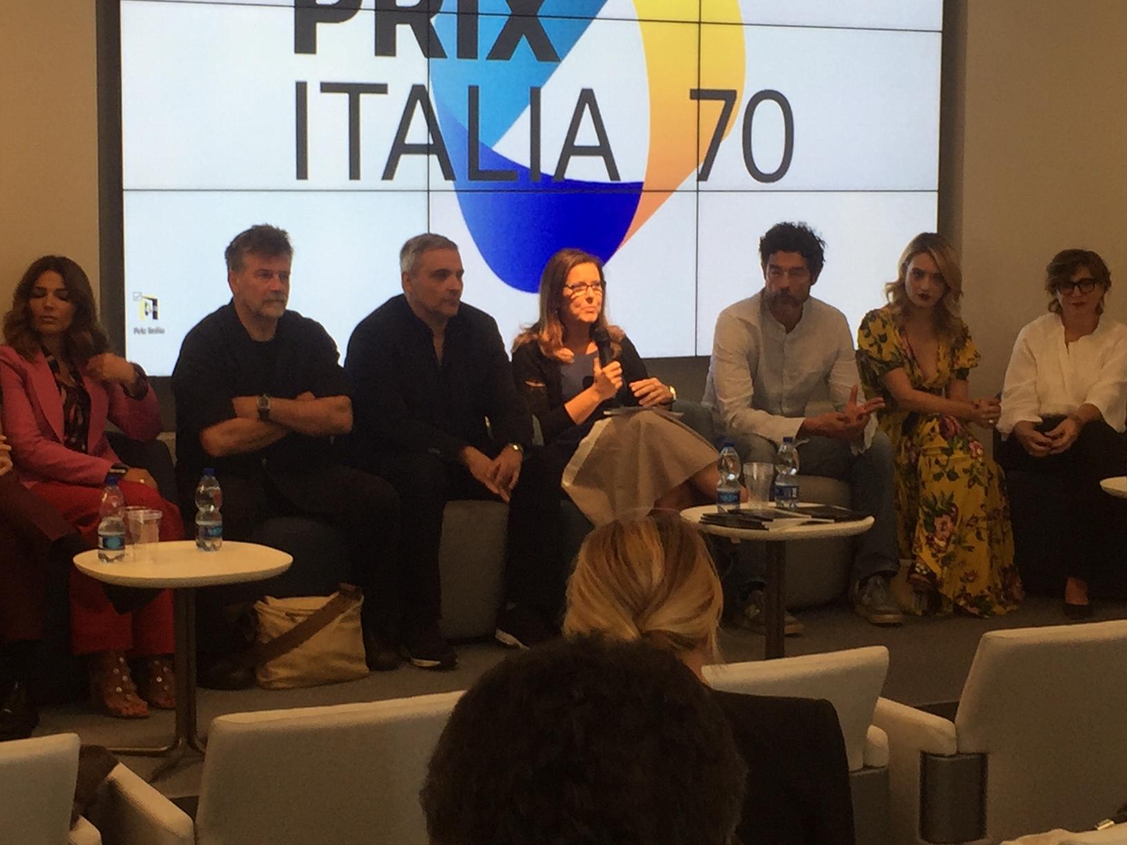 """Capri. """"I bastardi di Pizzofalcone""""presentazione al Prix Italia della nuova Stagione della Fiction (VIDEO)"""