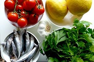 Alici al limone di Capri, Ricetta Veloce