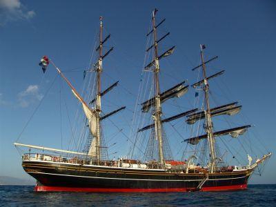 """Approderà anche a Capri """"CLIPPER"""" il maestoso  Veliero della Formazione Nautica"""