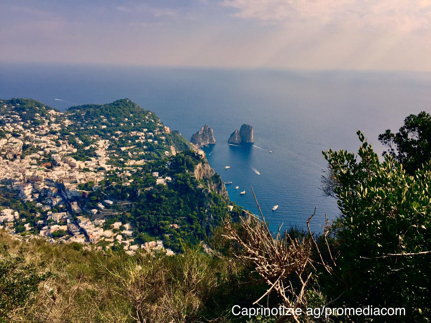 Meteo e Previsioni del tempo a Capri per oggi Mercoledì 10 Luglio 2019