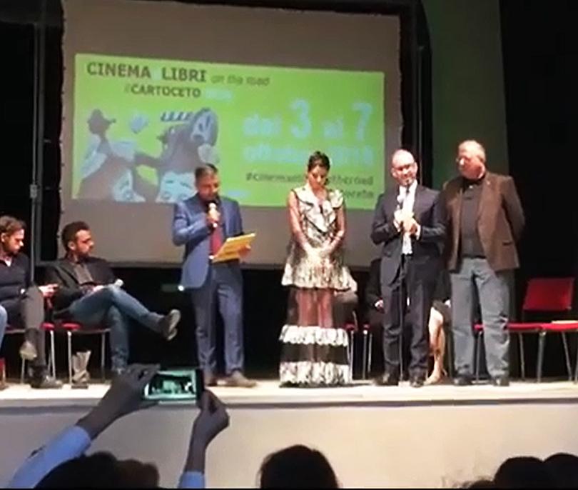 """Secondo Posto per """"La Scatola dei Segreti"""" di Amedeo Bagnasco al Festival Cinema&Libri – Paolo Villaggio"""