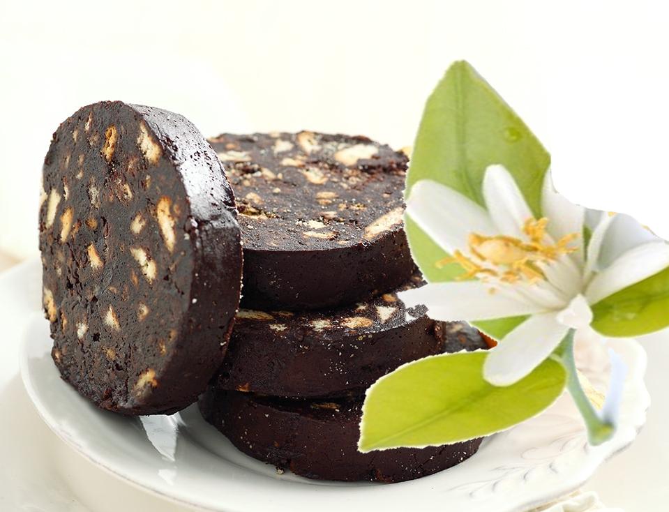 Salame di Cioccolata fondente e Limoncello di Capri