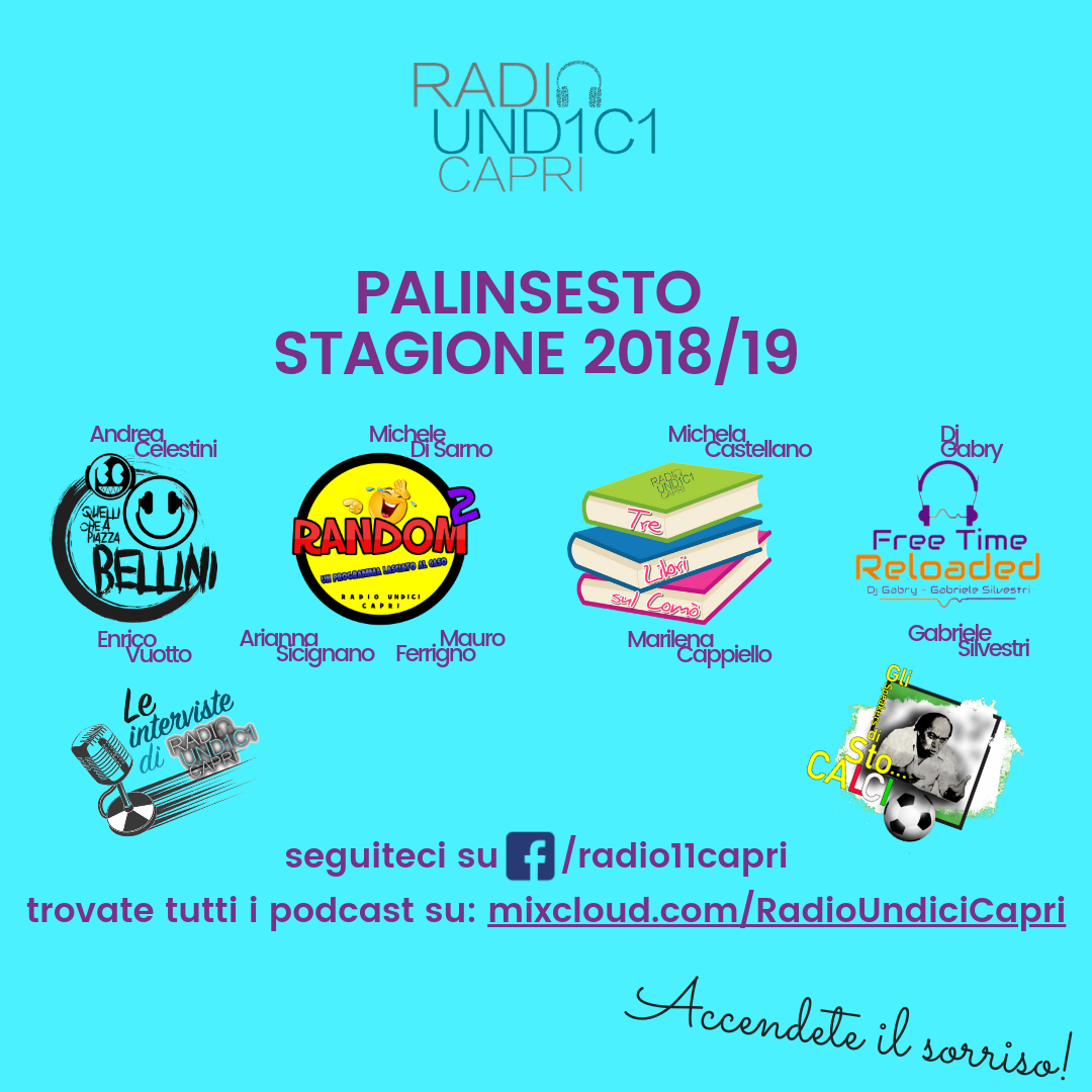 """Capri. La Web Radio isolana """"Radio11Capri"""" inaugura il nuovo palinsesto invernale"""