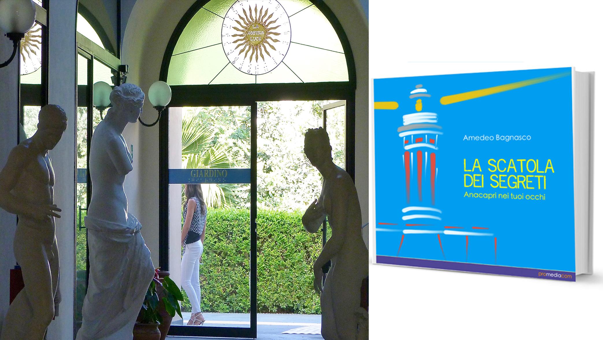 """Da Capri a Catania, """"La Scatola dei Segreti"""" di Amedeo Bagnasco collega le due Isole nel segno della Cultura e della Solidarietà."""