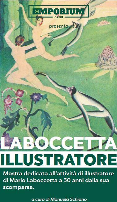 """Capri. In Mostra all' Emporium """"Labocetta Ilustratore"""" curata da Manuela Schiano"""
