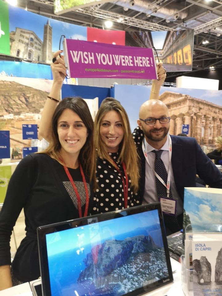 Turismo e Promozione delle strutture dell'isola di Capri al WTM di Londra con Nesea e Federalberghi