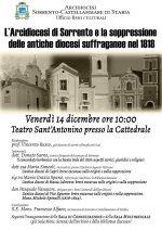 L'Arcidiocesi di Sorrento e la soppressione delle antiche diocesi suffraganee nel 1818