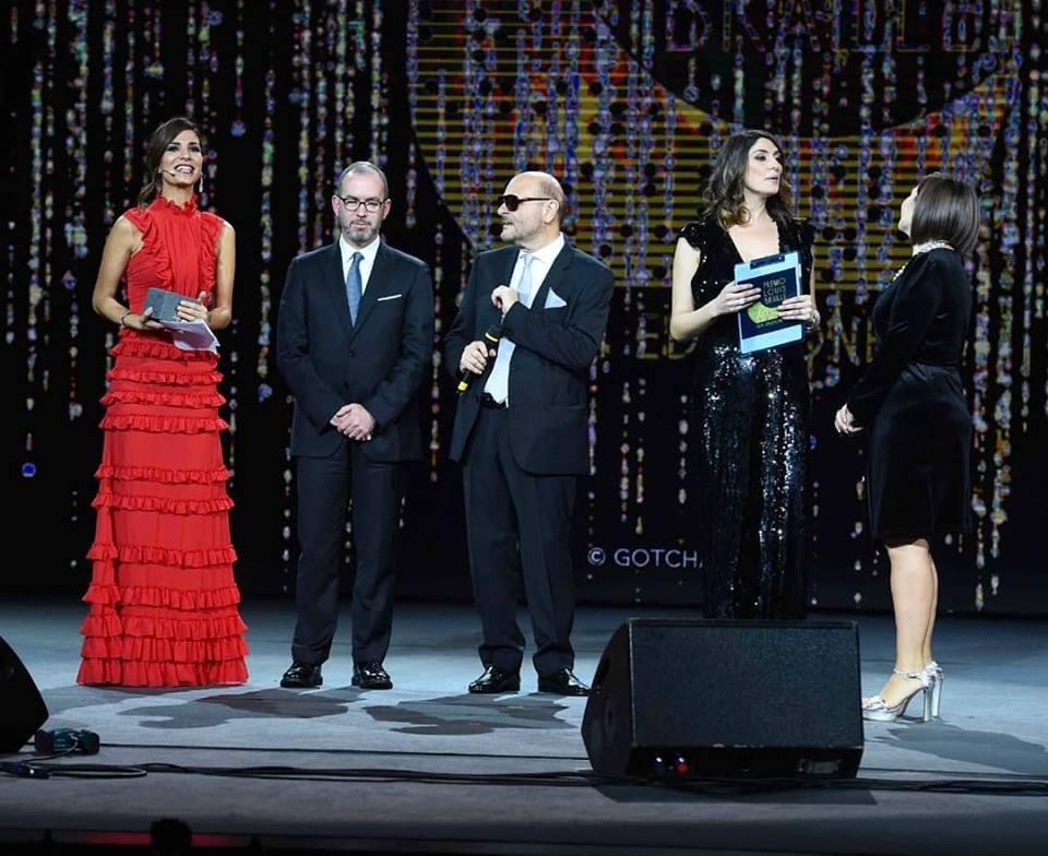 """La Premiazione su RaiUno  del Premio Speciale Braille 2018 allo scrittore caprese Amedeo Bagnasco per il Libro """"La Scatola dei Segreti"""" ediz. Promediacom"""