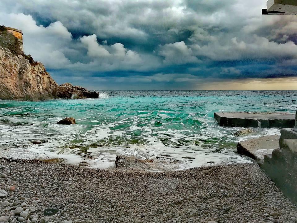 Capri. L'incanto prima del temporale ( Foto)