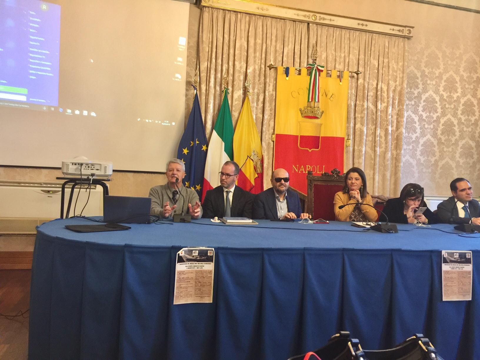 """Napoli. """"L'importanza del Braille nell'era della tecnologia"""" Seminario con presentazione del Libro di Amedeo Bagnasco (Video e Foto)"""