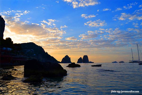 Che tempo farà oggi a Capri? le previsioni meteo per Martedì 9 Luglio 2019