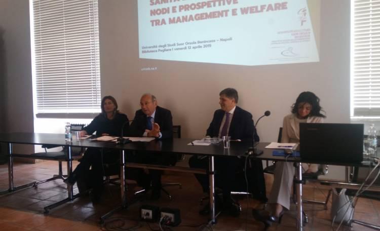 Sanità:All'Università Suor Orsola Benincasa progetto per migliorare il sistema nelle isole.