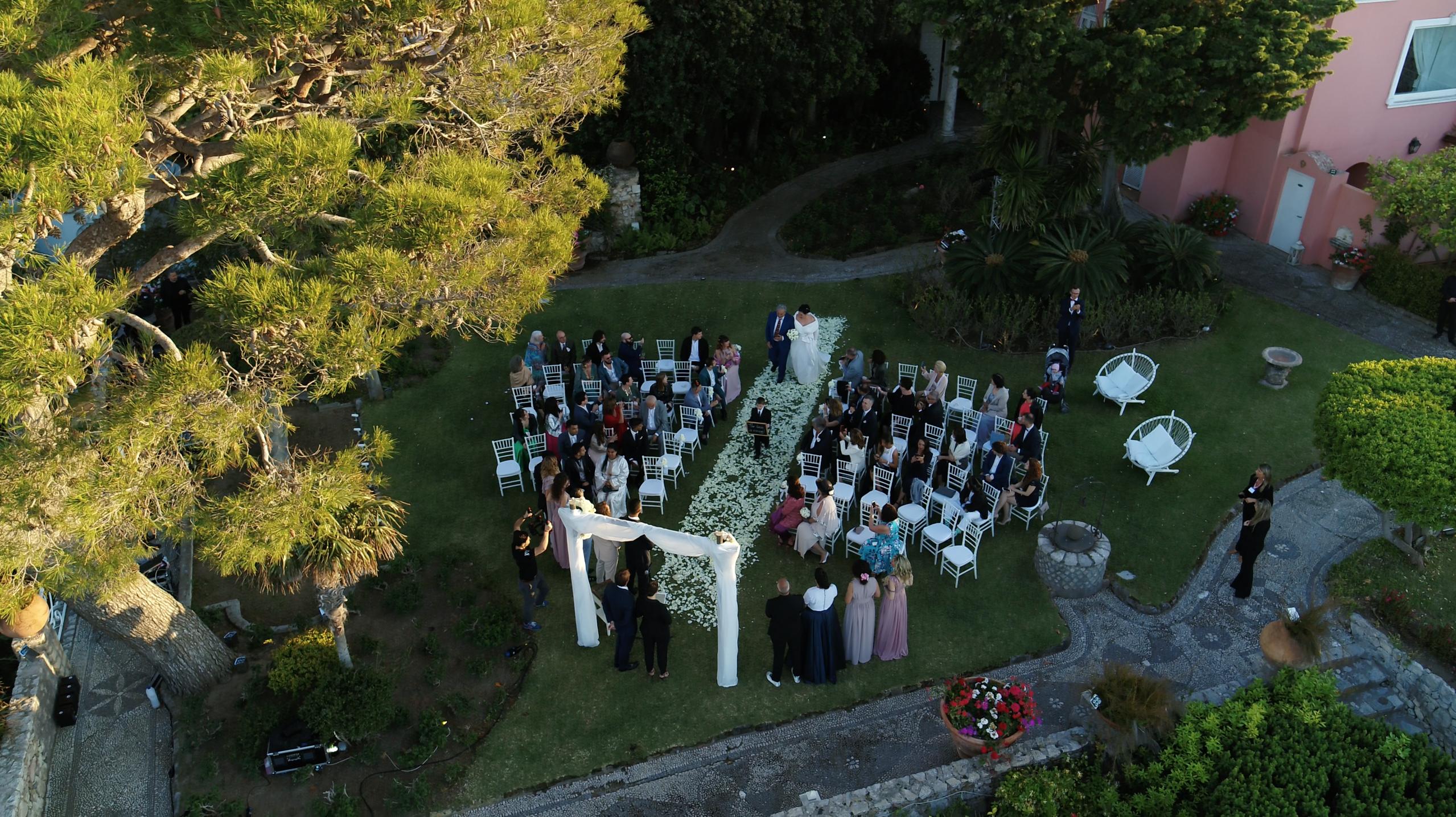 Capri. Matrimonio da Favola a Villa Bismark curato da CapriMyday (FOTO)