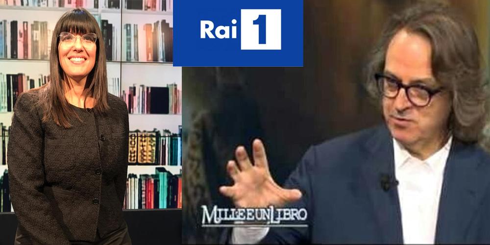 Maria Simeoli ospite nella trasmissione MilleeunLibro di Raiuno condotta da Gigi Marzullo