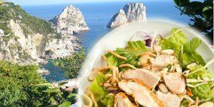 Insalata di Pollo Cipolle, Menta e Limoni di Capri